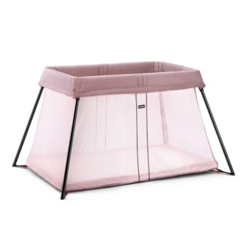BabyBjorn Travel Crib Light - Pink
