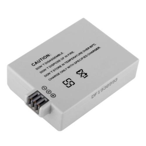 Insten 2 LP-E5 Battery for Canon EOS 500D 1000D 450D Digital Rebel Xs Xsi T1i + Hood