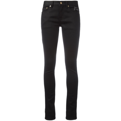 SAINT LAURENT Raw Low Waisted Skinny Jeans