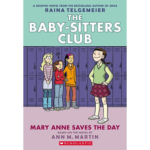 Scholastic Baby-Sitters Club Mary Anne Saves the Day Story Book