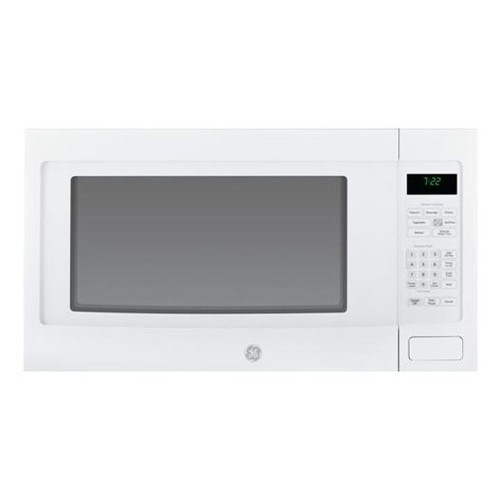 GE Profile PEB7226DFWW 2.2 cu. Ft. Countertop Microwave Oven with 1200 Watts, 10 Power Levels, Sensor Cooking Controls, Optional Built-In Trim Kit, Control Lockout and Extra Large 16