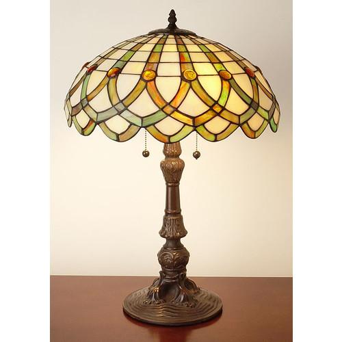 Tiffany-style Ribbon Table Lamp