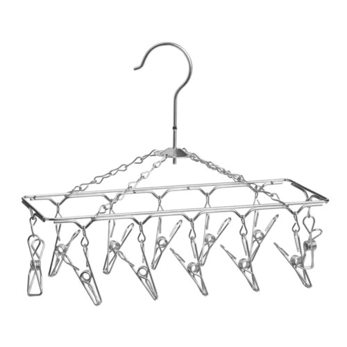 Honey Can Do DRY-01102 Hanging Drying Rack- Chrome