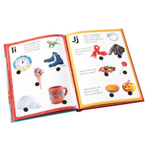 Educational Insights Hot Dots Jr. Let's Learn the Alphabet Interactive Books, 5-Book Set