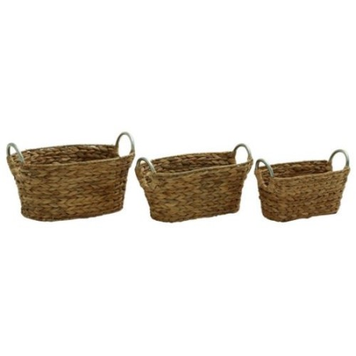 Versatile Set Of 3 Sea Grass Baskets