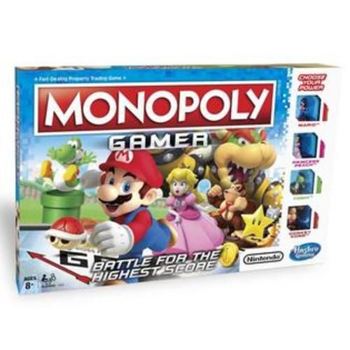 Hasbro Super Mario Monopoly Gamer Game