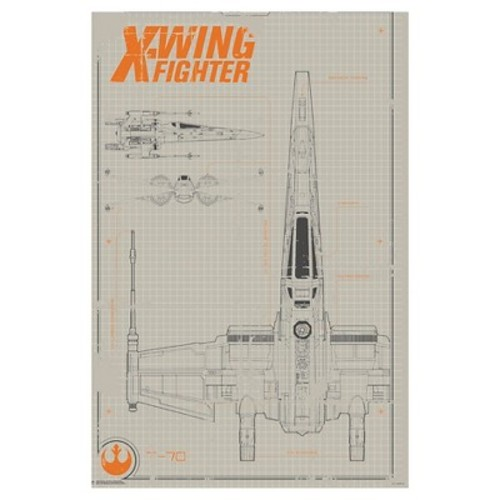 Art.com - Collector - Star Wars - X-Wing