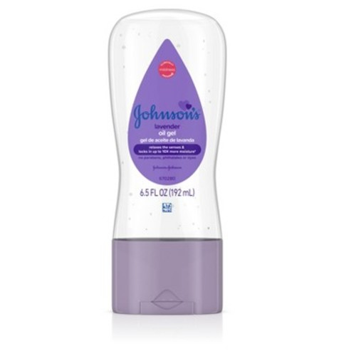 Johnson & Johnson Lavender Baby Oil 6.5 fl oz
