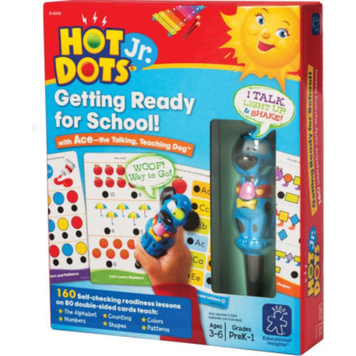 Educational Insights Hot Dots Getting Ready For School