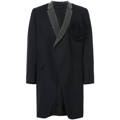Comme Des Garons Vintage rose applique coat