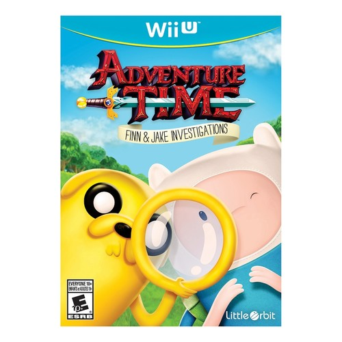 Adventure Time: Finn and Jake Investigations - Nintendo Wii U