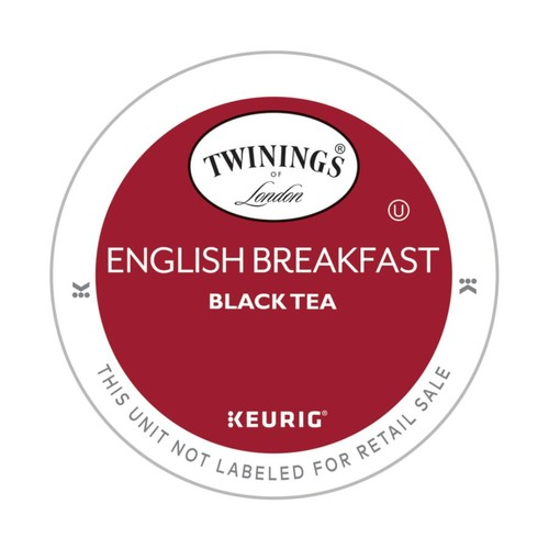 Twinings Pods English Breakfast Tea K-Cup Pods, 4 Oz, Box Of 18