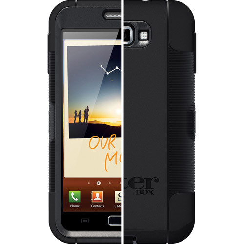 OtterBox Defender Series for Samsung Galaxy Note [Black]