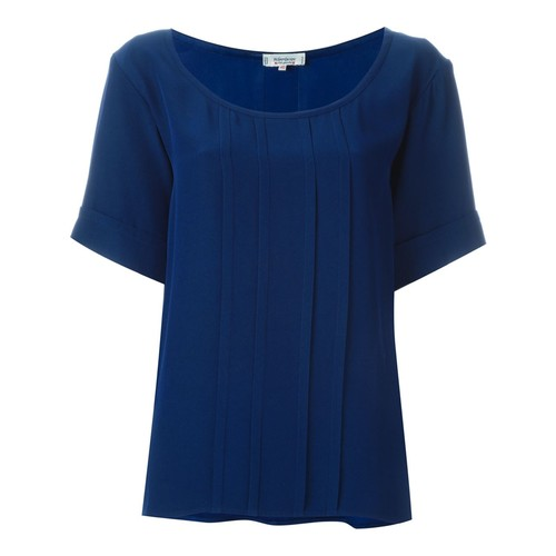 YVES SAINT LAURENT VINTAGE Pleated Boxy Top