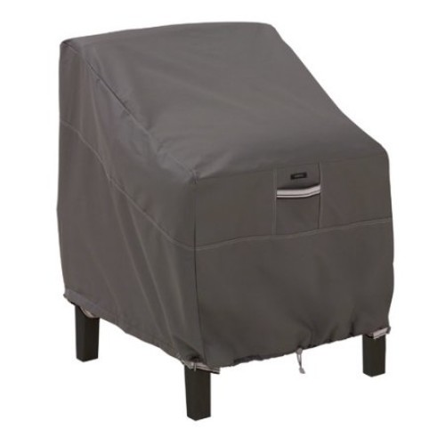 Classic Accessories Ravenna Lounge Chair Cover in Dark Taupe