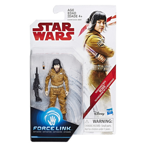 Star Wars Force Link Figure - Resistance Tech Rose
