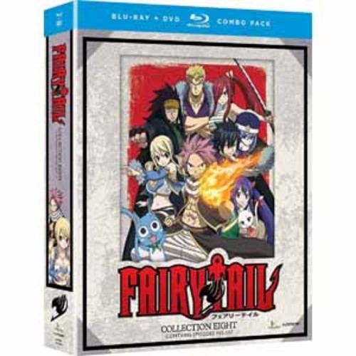 Fairy Tail: Collection Eight [Blu-Ray] [DVD]