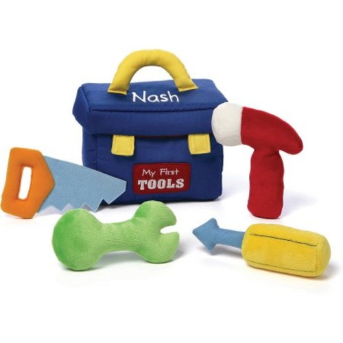 Plush My First Toolbox Playset