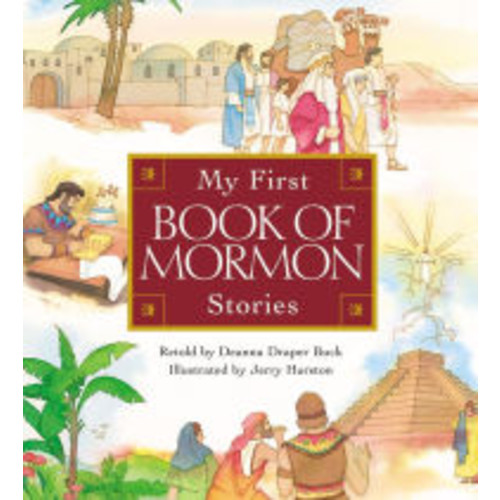 My First Book of Mormon Stories Book