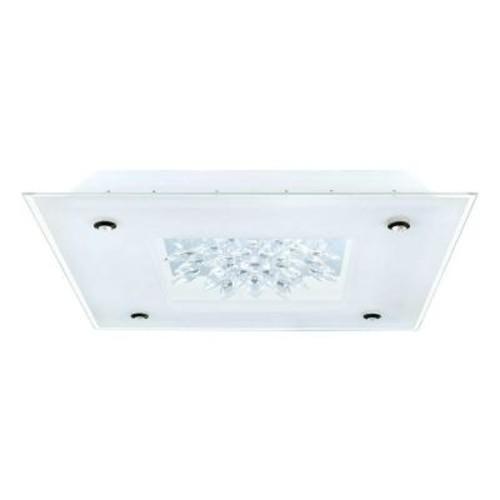 Eglo Benalua 2-Light White Integrated LED Ceiling Light