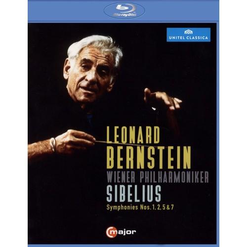 Sibelius: Symphonies Nos. 1, 2, 5 & 7 [Video] [Blu-Ray Disc]