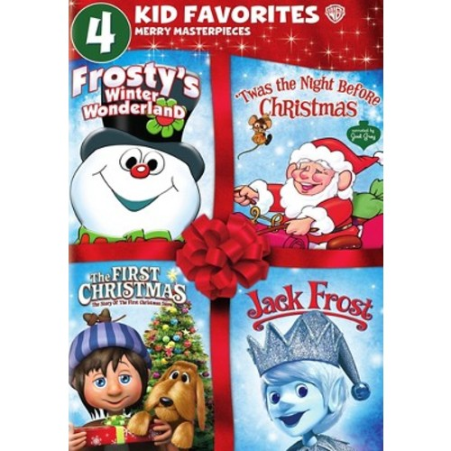 4 Kid Favorites: Merry Masterpieces - Frosty's Winter Wonderland / 'Twas The Night Before Christmas / The First Christmas / Jack Frost