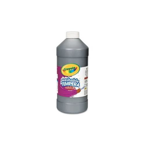 Crayola Artista II Washable Tempera Paint, Black