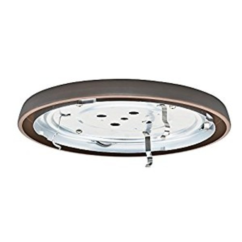 Casablanca Fan Company 99068 CFL Low Profile Fitter, Brushed Cocoa
