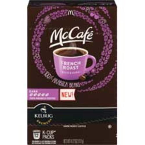 McCafe French Roast 100% Arabica Dark Roast Coffee K-Cup Pods, 12CT