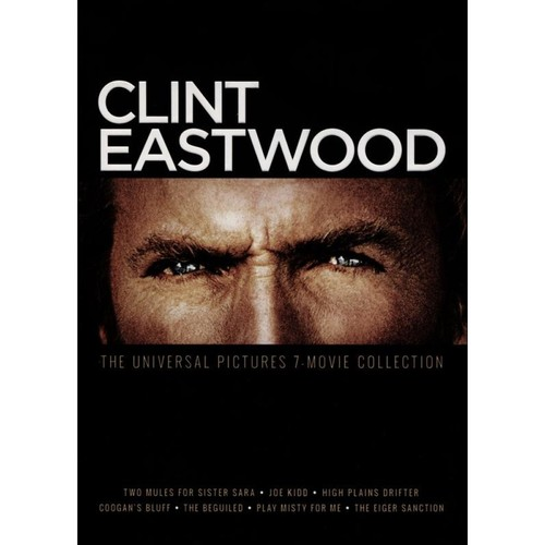 Clint Eastwood: The Universal Pictures 7-Movie Collection [7 Discs] [DVD]