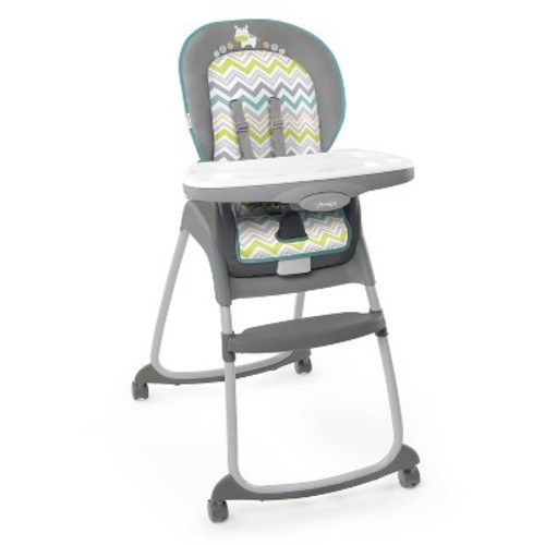 Ingenuity Trio 3-in-1 Ridgedale High Chair, Grey [Grey]