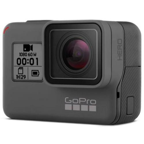 GoPro HERO Camera (2018) Bundle with 16GB Micro SDHC Card, and Selfie Stick