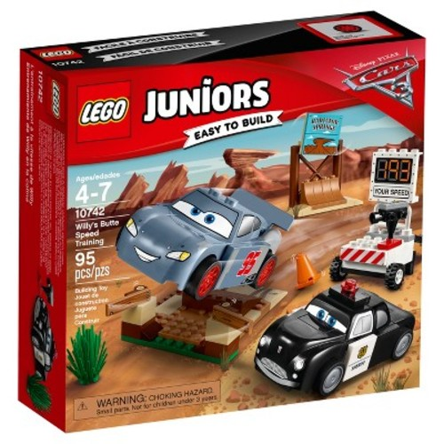 LEGO Juniors DisneyPixar Cars 3 Willy's Butte Speed Training 10742