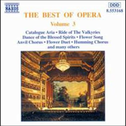 The Best of Opera, Vol. 3 Audio Compact Disc