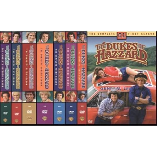 Dukes of hazzard:Complete seasons 1-7 (DVD)