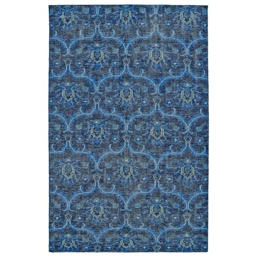 Kaleen Relic Blue 9 ft. x 12 ft. Area Rug