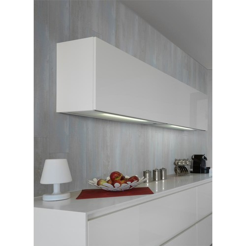 Grosfillex Element 36 sq. ft. White Resin Paneling (18-Pack)