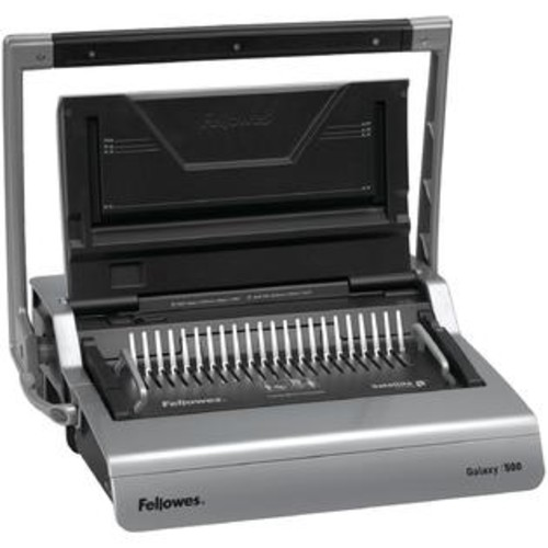 Fellowes 5218201 Galaxy 500 Comb Binding Machine With Starter Kit