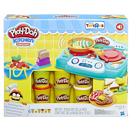 Play-Doh Kitchen Creations Stovetop Super Set