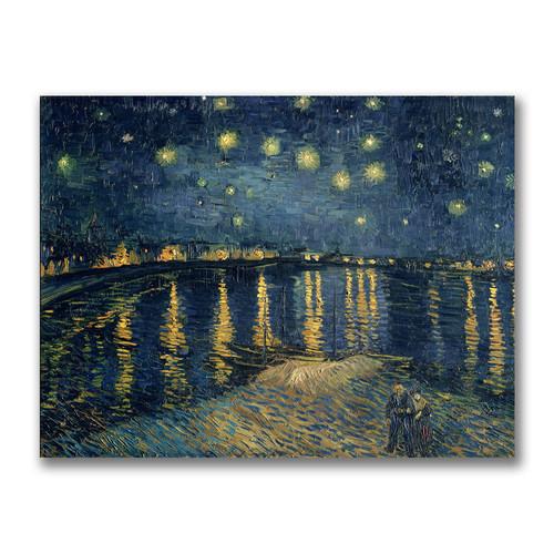 Trademark Global Vincent Van Gogh 'The Starry Night II' 14
