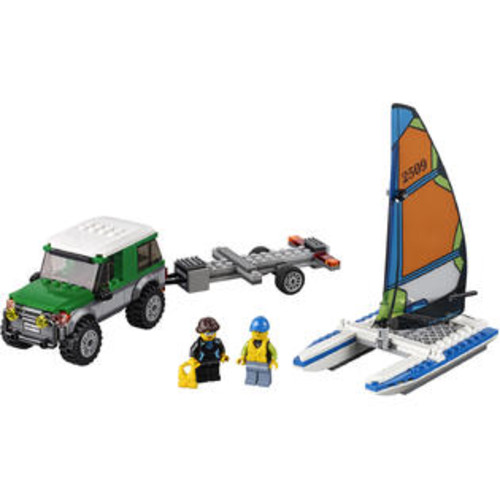 LEGO City Great Vehicles 4x4 with Catamaran (60149)