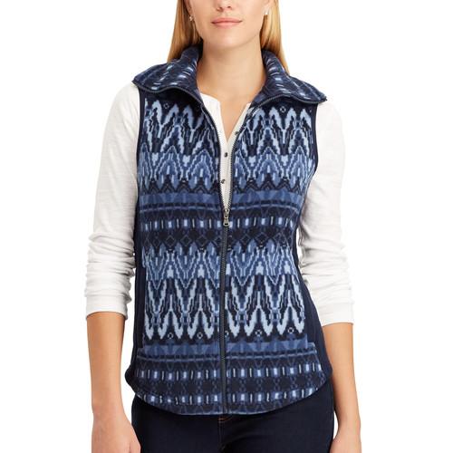 Women's Chaps Faux Shearling Vest
