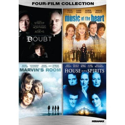 Meryl Streep: Four-Film Collection - Doubt / Music Of The Heart / Marvin's Room / House Of The Spirits (Widescreen)