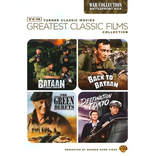 TCM Greatest Classic Films Collection: WWII - Battlefront Asia [2 Discs] [DVD]