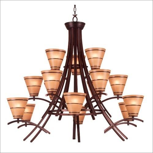 Kenroy Home 90088ORB Wright 15 Light Chandelier- Oil Rubbed Bronze Finish