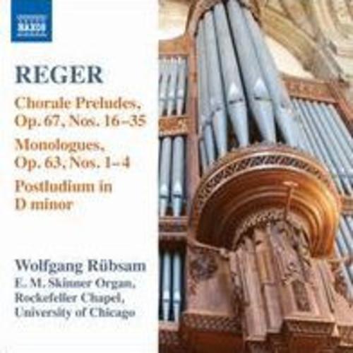 Reger: Organ Works, Vol. 15