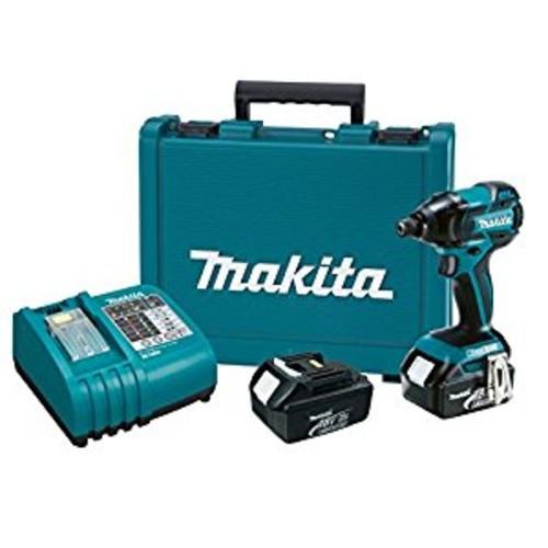 Makita LXDT08 18-Volt LXT Lithium-Ion Brushless Impact Driver Kit