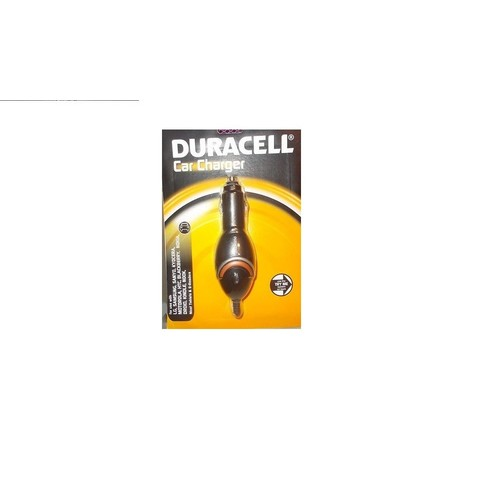 Duracell Universal Car Charger, Black, 1 Count