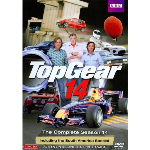 Top Gear: The Complete Season 14 [3 Discs] [DVD]