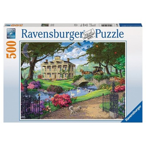 Ravensburger Jigsaw Puzzle 500-Piece - Visiting the Mansion